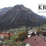 Wetter Kleinwalsertal Mittelberg am 30.09.2017