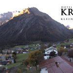 Wetter Kleinwalsertal Mittelberg am 02.10.2017