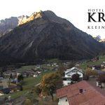 Wetter Kleinwalsertal Mittelberg am 05.10.2017