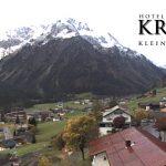 Wetter Kleinwalsertal Mittelberg am 06.10.2017