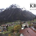 Wetter Kleinwalsertal Mittelberg am 09.10.2017