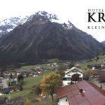 Wetter Kleinwalsertal Mittelberg am 10.10.2017
