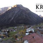 Wetter Kleinwalsertal Mittelberg am 17.10.2017