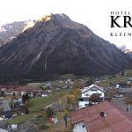 Wetter Kleinwalsertal Mittelberg am 18.10.2017