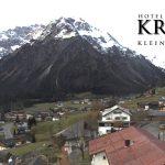Wetter Kleinwalsertal Mittelberg am 26.10.2017