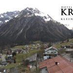 Wetter Kleinwalsertal Mittelberg am 27.10.2017