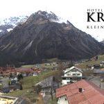 Wetter Kleinwalsertal Mittelberg am 04.11.2017