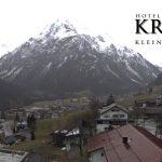 Wetter Kleinwalsertal Mittelberg am 12.11.2017