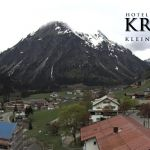 Wetter Kleinwalsertal Mittelberg am 01.05.2018