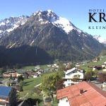Wetter Kleinwalsertal Mittelberg am 05.05.2018