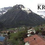 Wetter Kleinwalsertal Mittelberg am 10.05.2018