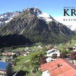 Wetter Kleinwalsertal Mittelberg am 12.05.2018