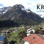 Wetter Kleinwalsertal Mittelberg am 13.05.2018
