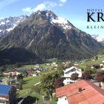 Wetter Kleinwalsertal Mittelberg am 18.05.2018