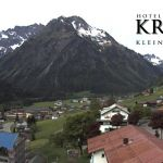 Wetter Kleinwalsertal Mittelberg am 20.05.2018