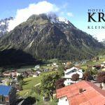 Wetter Kleinwalsertal Mittelberg am 23.05.2018