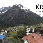 Wetter Kleinwalsertal Mittelberg am 24.05.2018