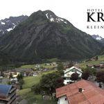 Wetter Kleinwalsertal Mittelberg am 01.06.2018