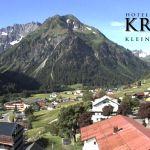 Wetter Kleinwalsertal Mittelberg am 06.06.2018