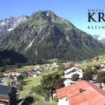 Wetter Kleinwalsertal Mittelberg am 16.06.2018
