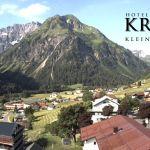 Wetter Kleinwalsertal Mittelberg am 17.06.2018