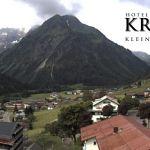 Wetter Kleinwalsertal Mittelberg am 19.06.2018