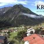 Wetter Kleinwalsertal Mittelberg am 29.06.2018