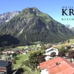 Wetter Kleinwalsertal Mittelberg am 30.06.2018