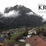 Wetter Kleinwalsertal Mittelberg am 22.09.2018