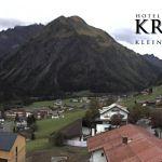Wetter Kleinwalsertal Mittelberg am 23.09.2018