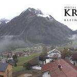 Wetter Kleinwalsertal Mittelberg am 03.10.2018