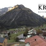 Wetter Kleinwalsertal Mittelberg am 06.10.2018