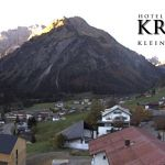 Wetter Kleinwalsertal Mittelberg am 11.10.2018
