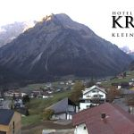 Wetter Kleinwalsertal Mittelberg am 17.10.2018