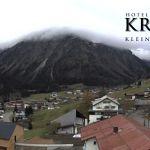 Wetter Kleinwalsertal Mittelberg am 30.10.2018