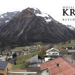 Wetter Kleinwalsertal Mittelberg am 31.10.2018