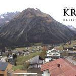 Wetter Kleinwalsertal Mittelberg am 04.11.2018