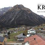 Wetter Kleinwalsertal Mittelberg am 06.11.2018