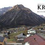 Wetter Kleinwalsertal Mittelberg am 07.11.2018