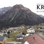 Wetter Kleinwalsertal Mittelberg am 09.11.2018