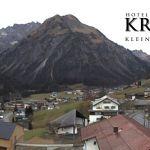Wetter Kleinwalsertal Mittelberg am 11.11.2018