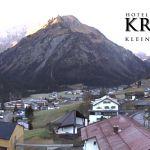Wetter Kleinwalsertal Mittelberg am 14.11.2018