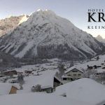 Wetter Kleinwalsertal Mittelberg am 04.02.2019