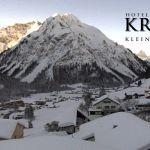 Wetter Kleinwalsertal Mittelberg am 06.02.2019