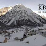 Wetter Kleinwalsertal Mittelberg am 08.02.2019