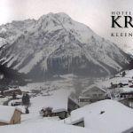 Wetter Kleinwalsertal Mittelberg am 09.02.2019