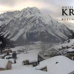 Wetter Kleinwalsertal Mittelberg am 10.02.2019