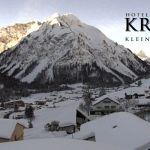 Wetter Kleinwalsertal Mittelberg am 13.02.2019