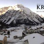 Wetter Kleinwalsertal Mittelberg am 19.02.2019