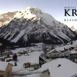 Wetter Kleinwalsertal Mittelberg am 21.02.2019